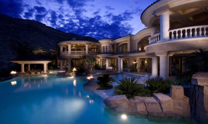 Fancy House Luxury Pool Rich Favim
