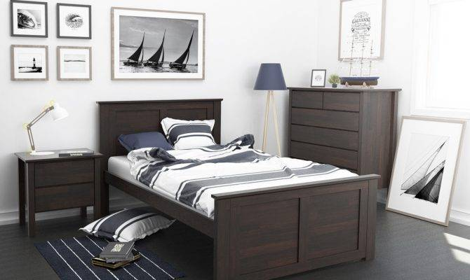 Fantastic King Single Bed Hardwood Furniture