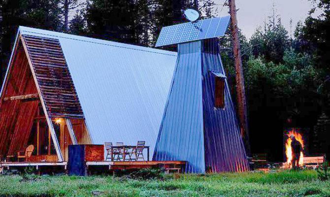 Far Meadow Frame Cabin