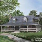 Farm Style House Plans Wrap Around Porch Rhodes Country Home Plan