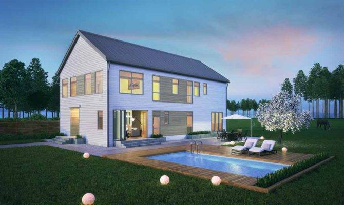 Farmhouse Affordable Modern House Designs