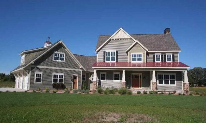 Farmhouse Architecture Exterior American