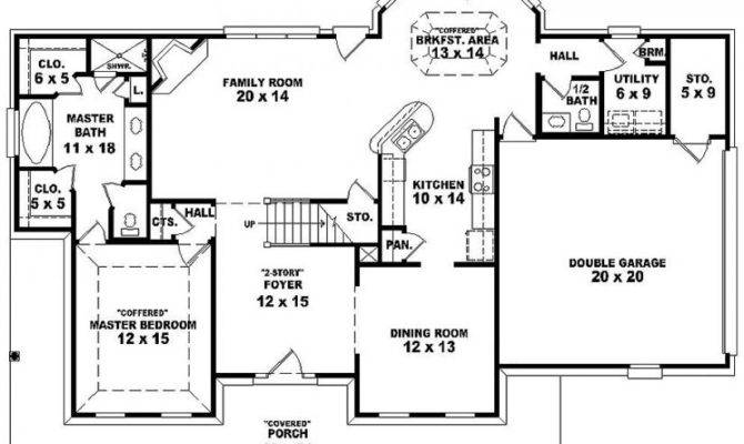 Farmhouse Country Style House Plan Plans Floor Home