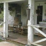 Farmhouse Front Porch Deck Balcony Pinterest