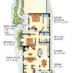 Farmhouse Plans Narrow Lot House