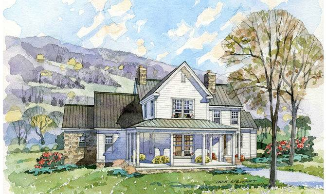 Farmhouse Southern Living Home Plans House New