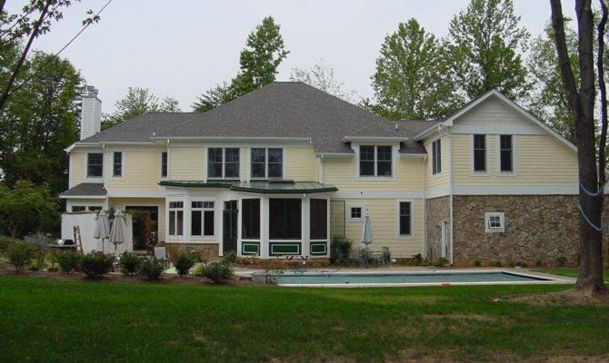 Farmhouse Style Custom Home Baltimore County Joe Architect