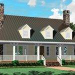 Farmhouse Style House Plan Plans Floor Home
