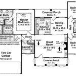 Farmhouse Warmth Split Bedroom Floor Plan