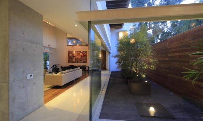 Featured Also Courtyard House Style Home Building One Story