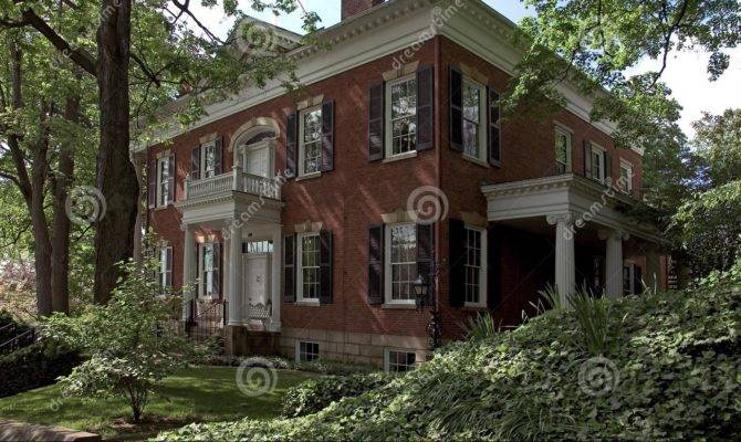 Federal Style House Building