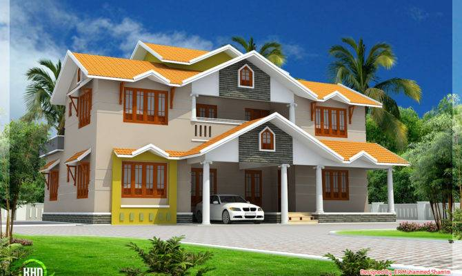 Feet Beautiful Dream Home Design House Plans