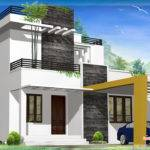 Feet Beautiful Modern Contemporary House Kerala