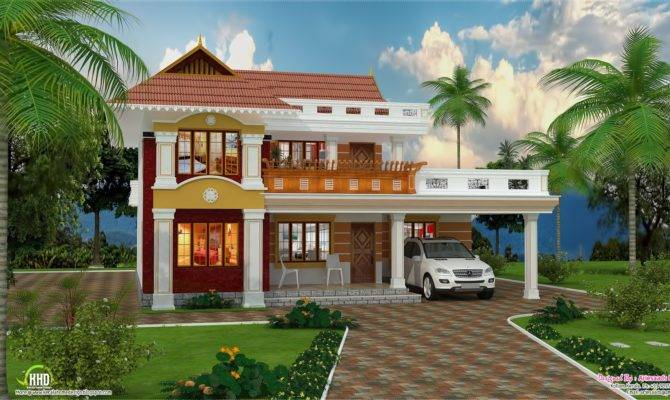 Feet Beautiful Villa Design Kerala Home