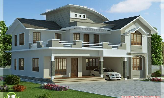 Feet Bedroom Villa Design Kerala Home Floor