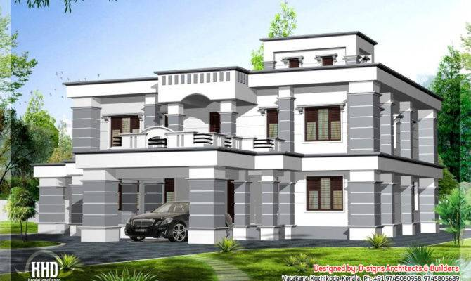 Feet Colonial Style Home Design Kerala Floor Plans