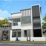 Feet Contemporary Modern Home Design Kerala Plans