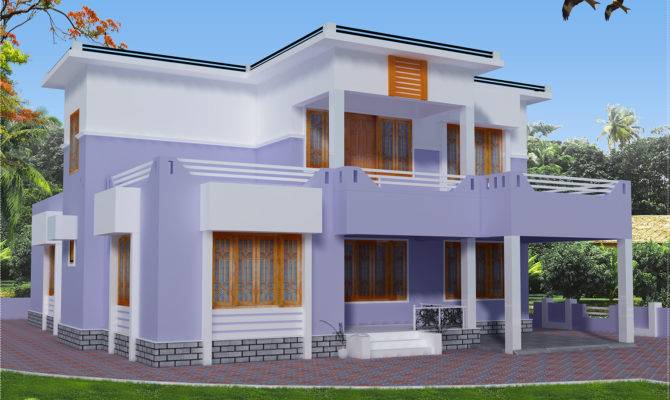 Feet Flat Roof House Design Kerala Home Floor Plans