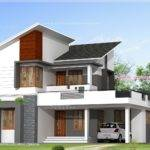 Feet Floor Plan Elevation Kerala Home