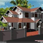 Feet House Elevation Design Kerala Home
