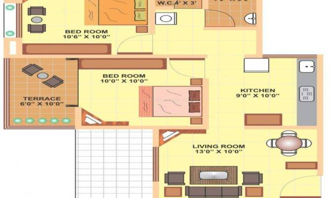 Feet House Plans