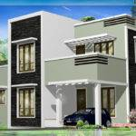 Feet Kerala Flat Roof Home Design Floor Plans