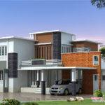 Feet Modern Contemporary Villa Kerala Home