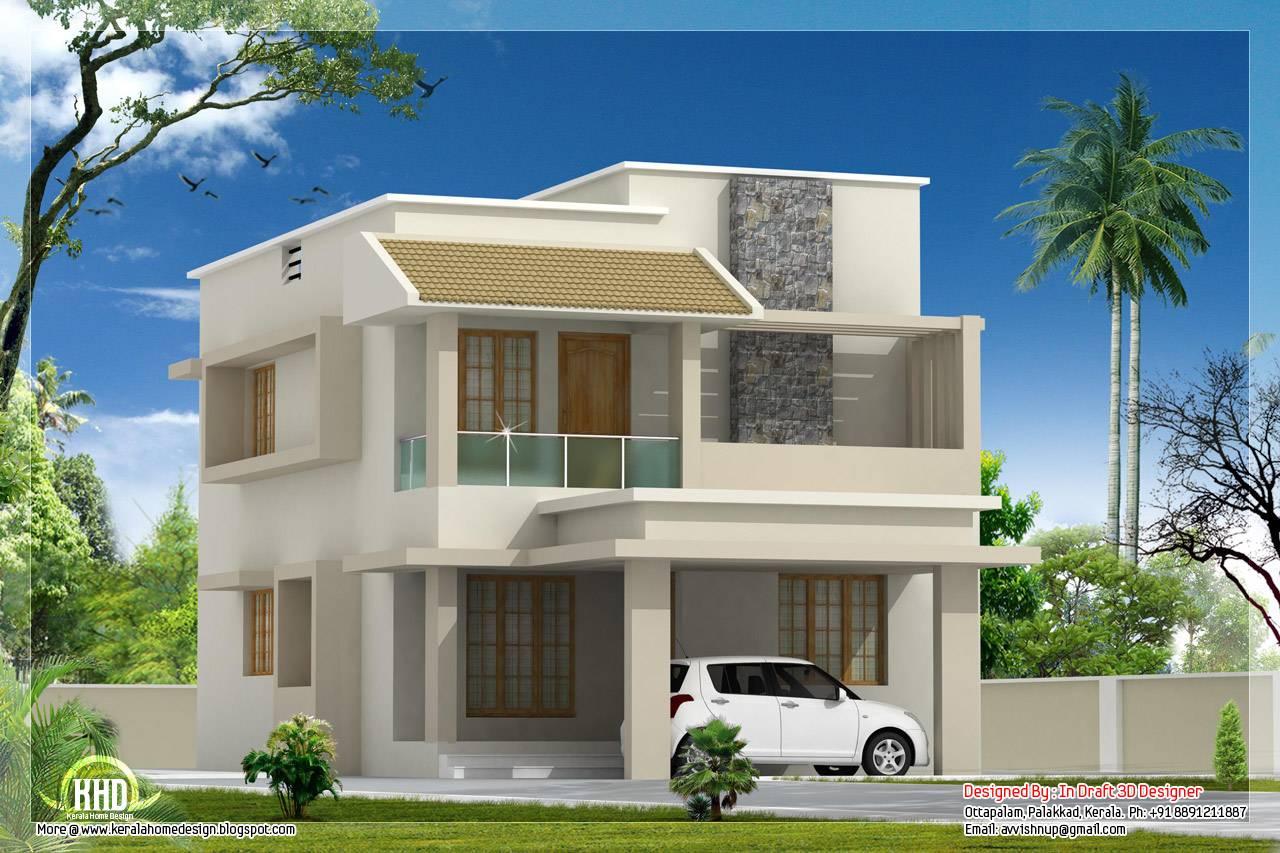 Feet Modern Villa Construction Cost Indian Home Decor House Plans 63251