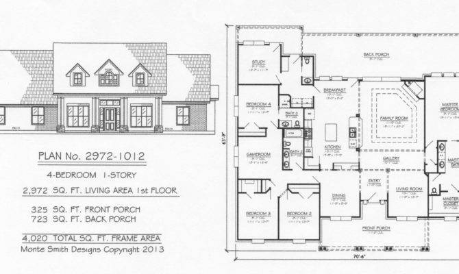 Feet Monte Smith Designs House Plans