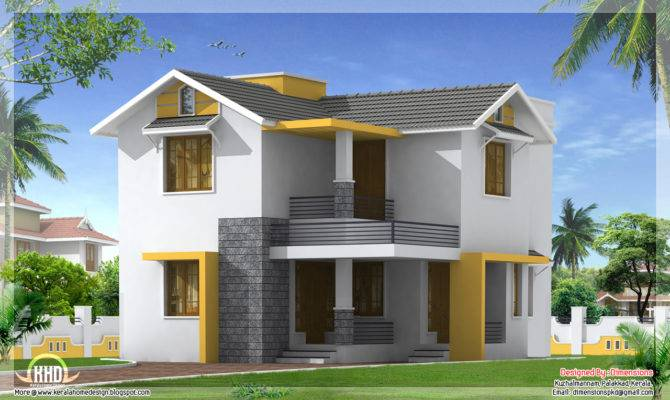 Feet Simple Budget Home Design Kerala Floor Plans