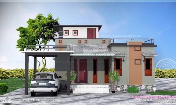 Feet Small Budget House Kerala Home Design Floor Plans