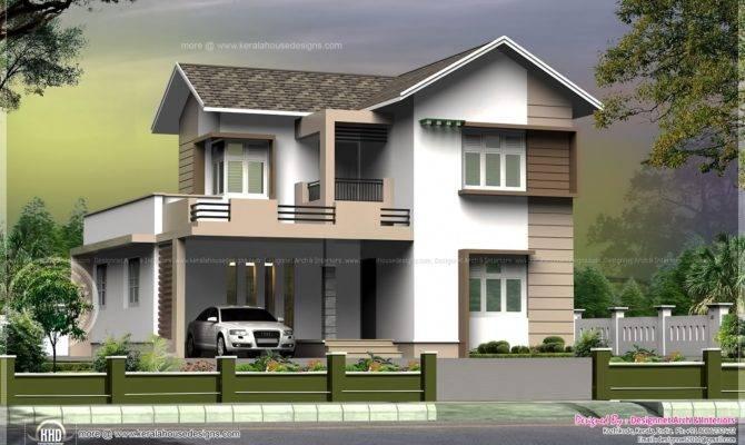 Feet Small Villa Cent Plot Kerala Home Design Floor Plans