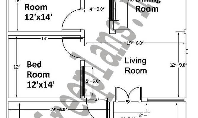 Feet Square Meters House Plan