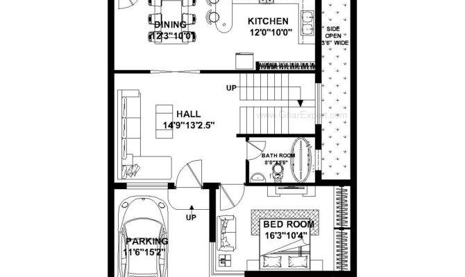 Feet Wide House Plans