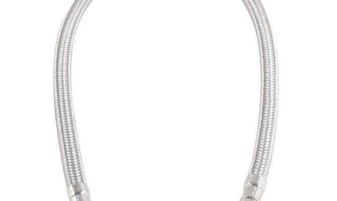 Female Male Braided Wire Flexible Water Heater Pipe