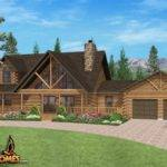Find Most Popular Log Home Floor Plans Leading