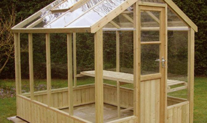 Find Perfect Wood Greenhouse Building Plan