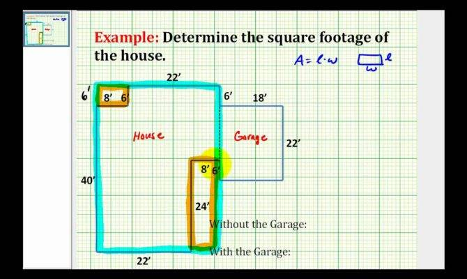 Find Square Footage House Youtube