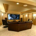 Finished Basement Home Theatre Architects Wheaton