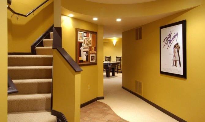 Finished Basement Ideas Decorative Style Amaza Design