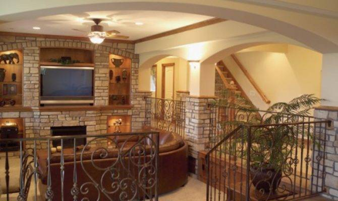 Finished Basement Ideas House Plans More