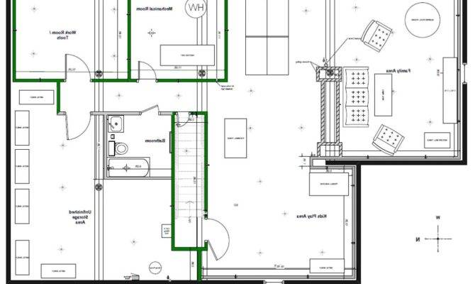 Finished Basement Layout Ideas Best