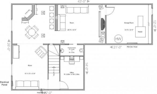 Finished Basement Layout Ideas Home Design
