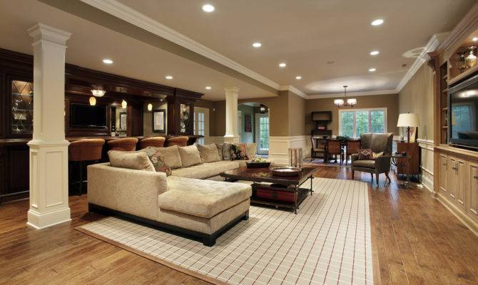 Finished Basement Man Cave Designs Many Styles