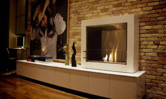 Fireplace Corner Gas Modern Fireplaces Well Home