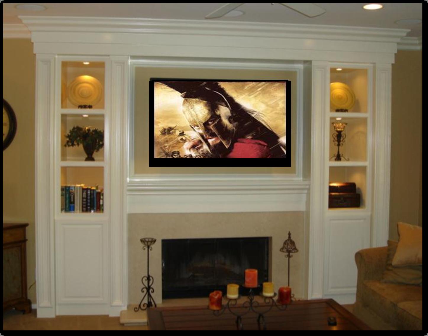Fireplace Entertainment Center Metro