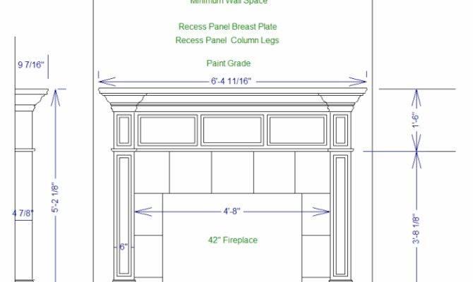 Fireplace Mantel Shelf Plans Amazing Wood