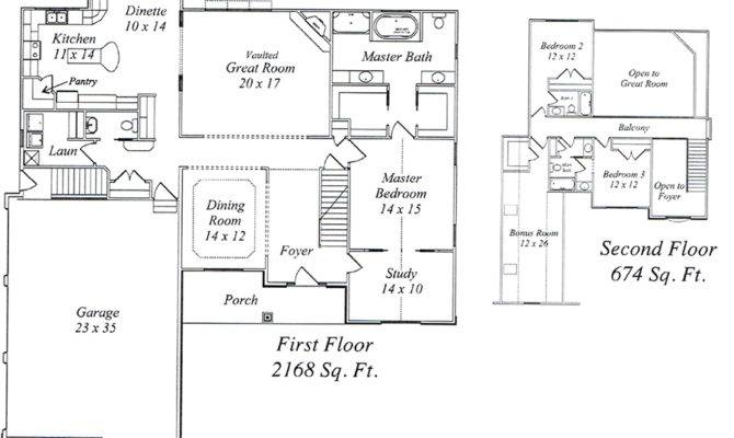 First Floor Master House Plans Design