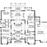First Floor Plan Italian Mediterranean Traditional House