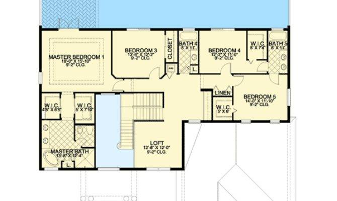 First Second Floor Master Suite